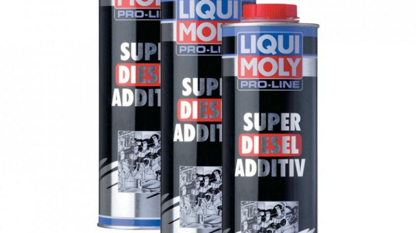 Pachet 3 Buc Liqui Moly Aditiv Super Diesel Pro-Line 1L 5176