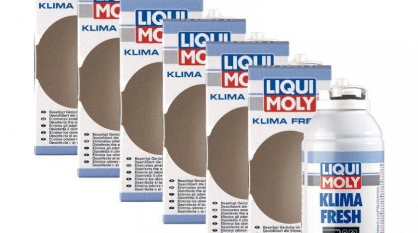 Pachet 6 Buc Liqui Moly Solutie Igienizat Sistemul De Climatizare 4065 150ML