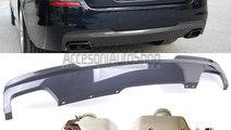Pachet Difuzor + Ornamente tobe BMW Seria 5 F10 F1...