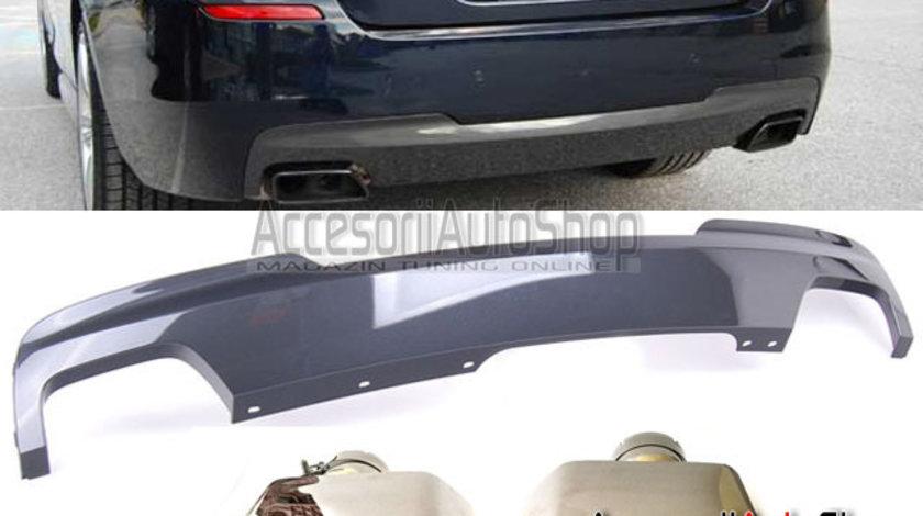 Pachet Difuzor + Ornamente tobe BMW Seria 5 F10 F11 550i 550d 550