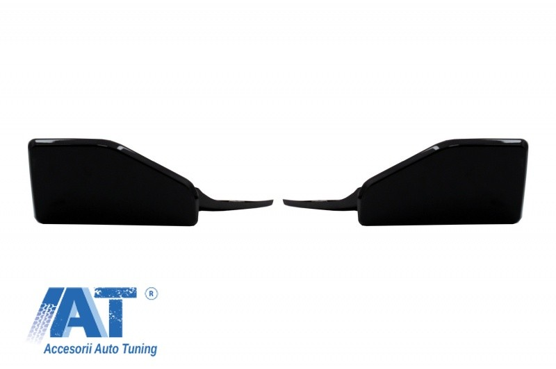 Pachet Exterior Aero Prelungire Bara Fata si Difuzor compatibil cu BMW X5 F15 (2014-2018) M Technik Sport Aerodynamic Design Piano Black