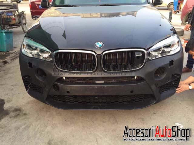 Pachet Exterior BMW M X6 F16 X6M cu evacuare inox