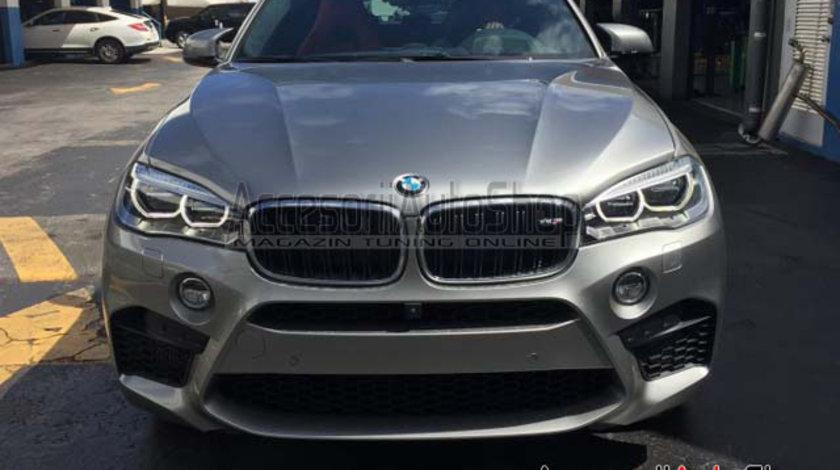 Pachet Exterior BMW M X6 F16 X6M cu evacuare inox 2799 EURO