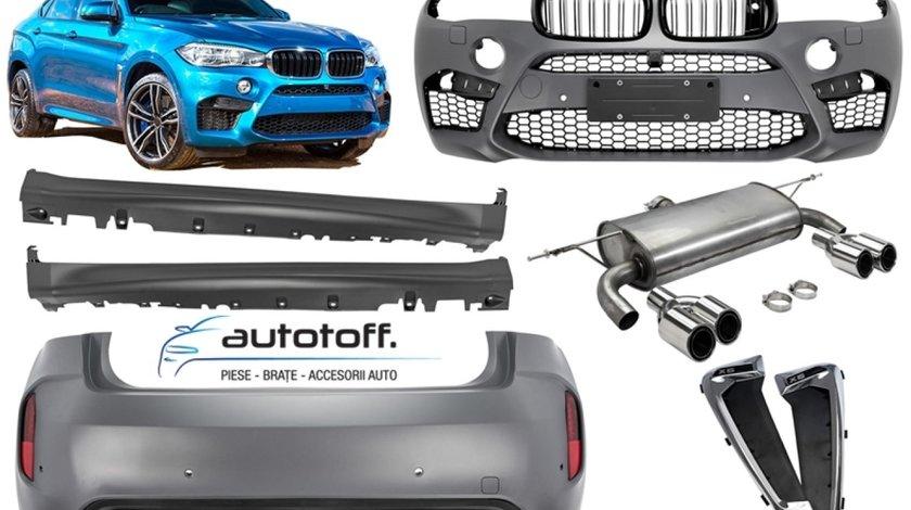 Pachet exterior BMW X6 F16 (2015+) M-Tech Design