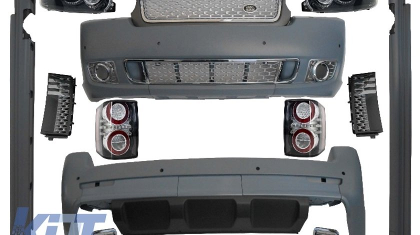 Pachet Exterior Complet Autobiography Design Range Rover Vogue (L322) (02-09)