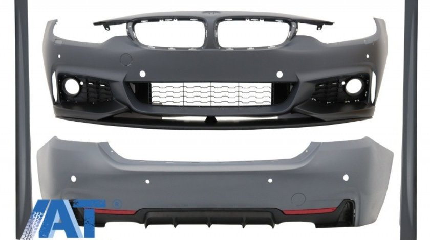 Pachet Exterior Complet compatibil cu BMW Seria 4 F36 Grand Coupe (2014-up) M-Performance Design
