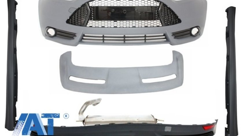 Pachet Exterior Complet compatibil cu FORD Focus 3 MKIII (2011-2014) ST Design