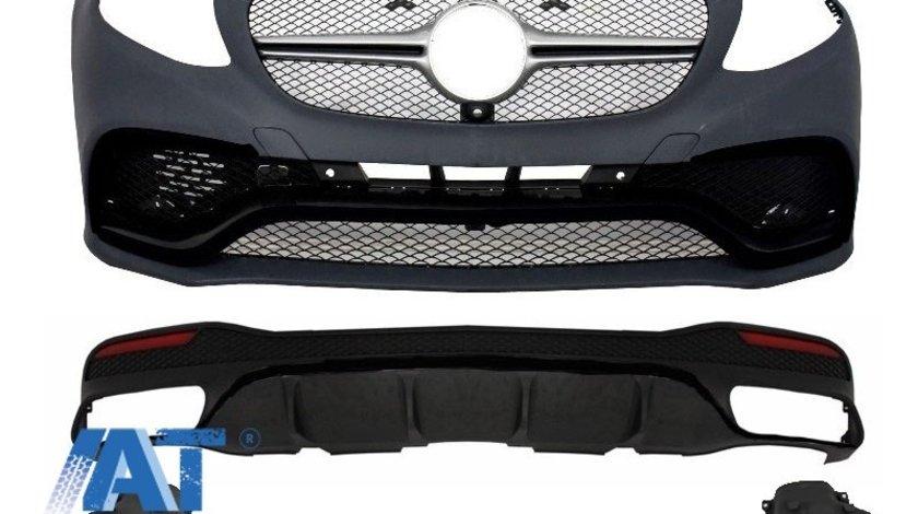 Pachet Exterior Complet compatibil cu MERCEDES Benz GLE W166 2015+