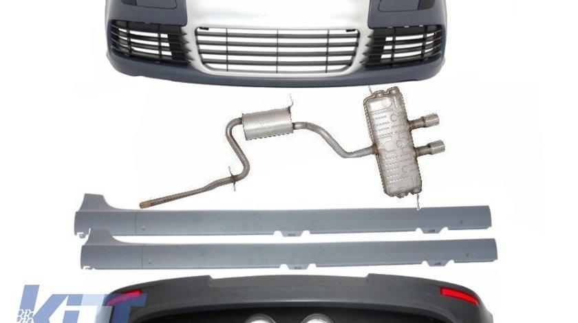Pachet Exterior Complet cu Evacuare R32 Volkswagen Golf 5 (2003-2007) R32 Design
