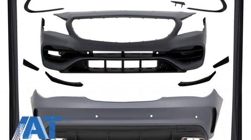 Pachet Exterior Complet cu Mercedes W117 CLA (2013-2018) Facelift CLA45 Design