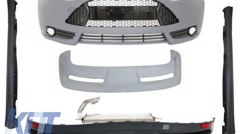Pachet Exterior Complet Ford Focus MK3 5Usi Hatchback (2011-2014) ST Design KTX2-CBFFST