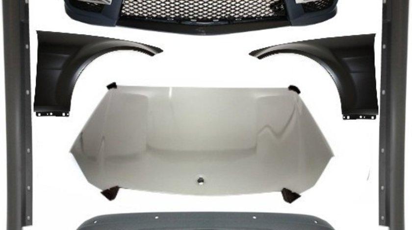 Pachet exterior Conversie Complet compatibil cu MERCEDES W204 2011-2014 Facelift C63 A-Design