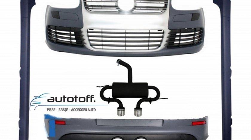 Pachet exterior cu Sistem de evacuare VW Golf 5 (03-07) R32 Design