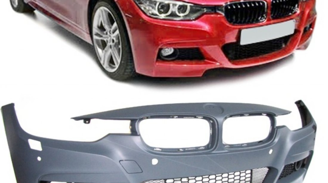 Pachet exterior M Performance BMW F30 2011 up