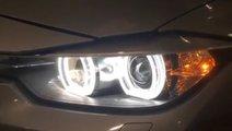 Pachet Far BMW F30 Lupe Bixenon+Xenon Canbus+Angel...