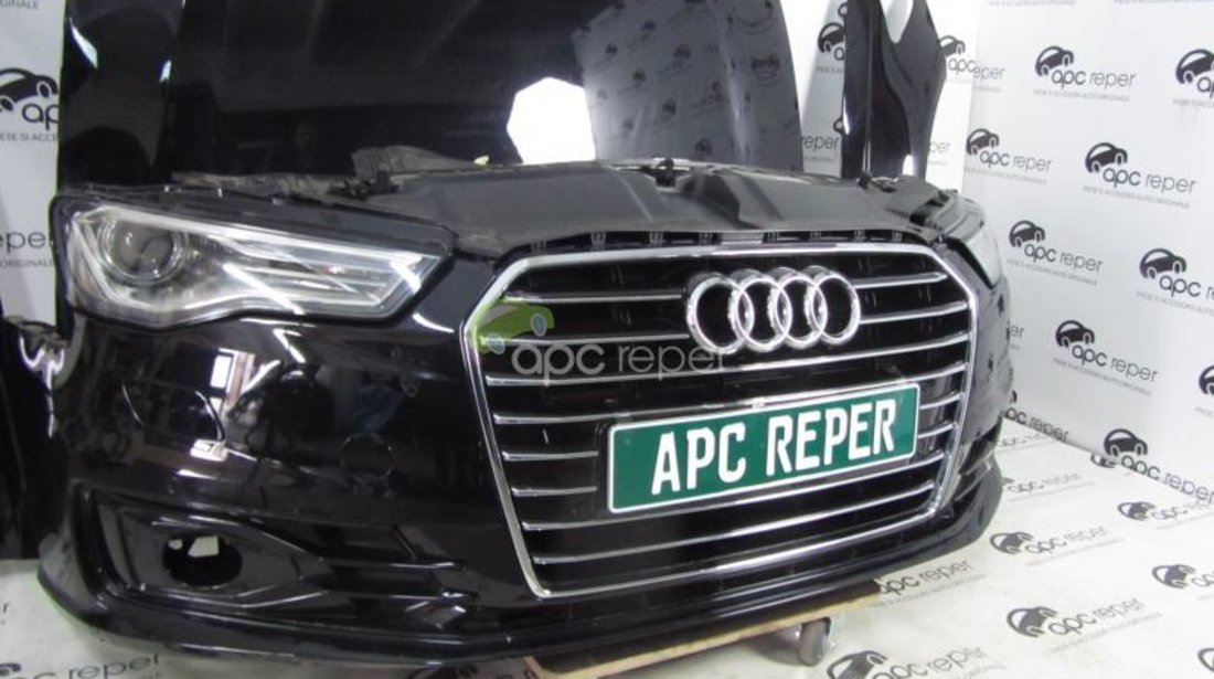 Pachet fata completa Audi A6 4G 3,0Tdi Facelift Xenon Led model 2016!