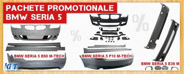 Pachete speciale de styling exterior pentru BMW Seria 5 la preturi reduse!