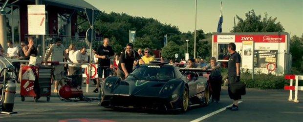 Pagani Zonda R - documentarul din spatele recordului de la Nurburgring