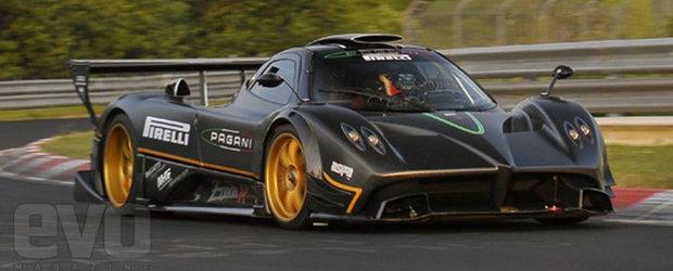 Pagani Zonda R - Regele circuitului de la Nurburgring