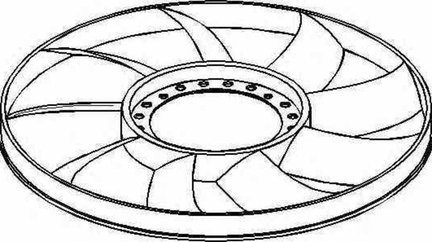 Paleta ventilator racire motor AUDI A6 4A C4 TOPRAN 110 295