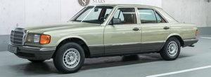 Pana acum a fost expus la muzeul Mercedes-Benz. Pretul cerut pe acest S-Class din 1982