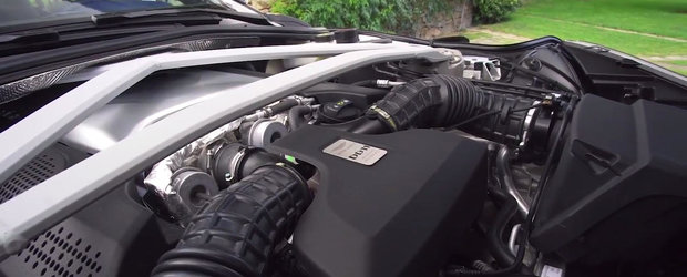 Pana acum trei luni nu-l puteai comanda decat intr-o varianta V12. Recent, acest GT britanic a primit si un motor V8 AMG