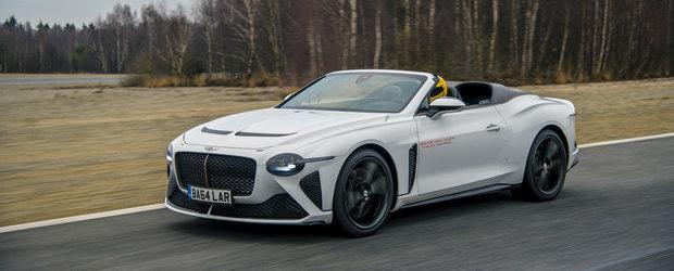 Pana la versiunea de serie nu mai este decat un pas. Bentley a inceput testarea decapotabilei de 1.7 milioane de euro