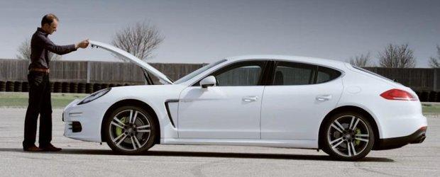Panamera S E-Hybrid: un Porsche care consuma 3.1 litri/100km