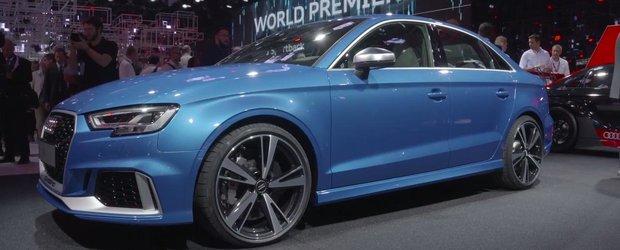 Panica la Mercedes. In laboratoarele Audi a fost creat pradatorul modelului CLA45 AMG