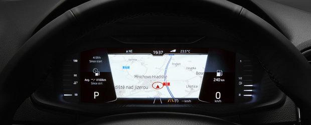 Panica la sediul Volkswagen. SKODA a publicat prima imagine cu interiorul noului SCALA