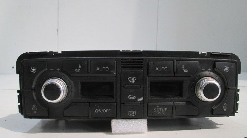 Panou clima Audi A8 an 2005-2009 cod 4E0820043A