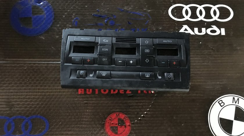 Panou Climatronic Audi A4 B7 8E0 820 043 AM