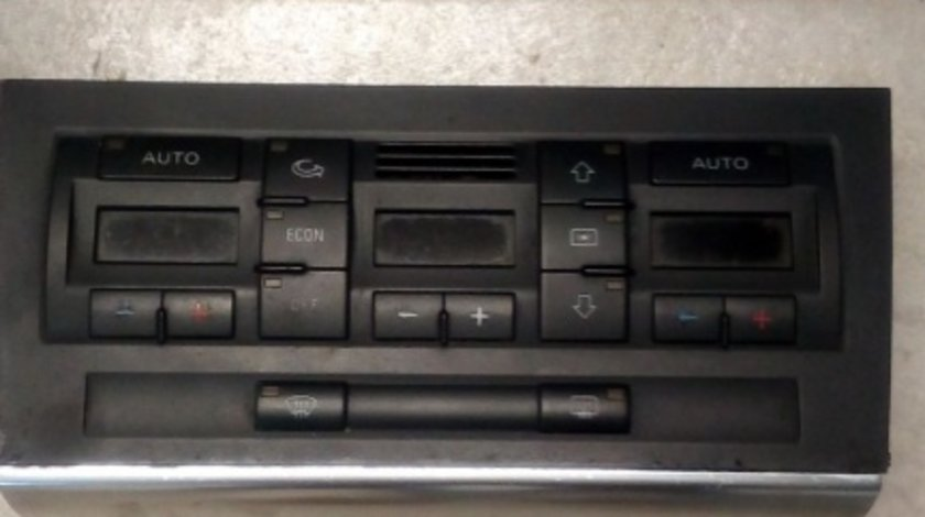 Panou comanda clima Audi A4 B7 cod 8E0820043AJ