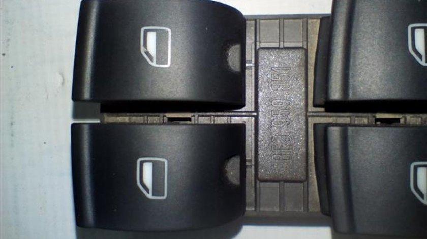 Panou comanda geamuri stanga Audi A4 B6/B7 An 2005-2008 cod 8E0959851
