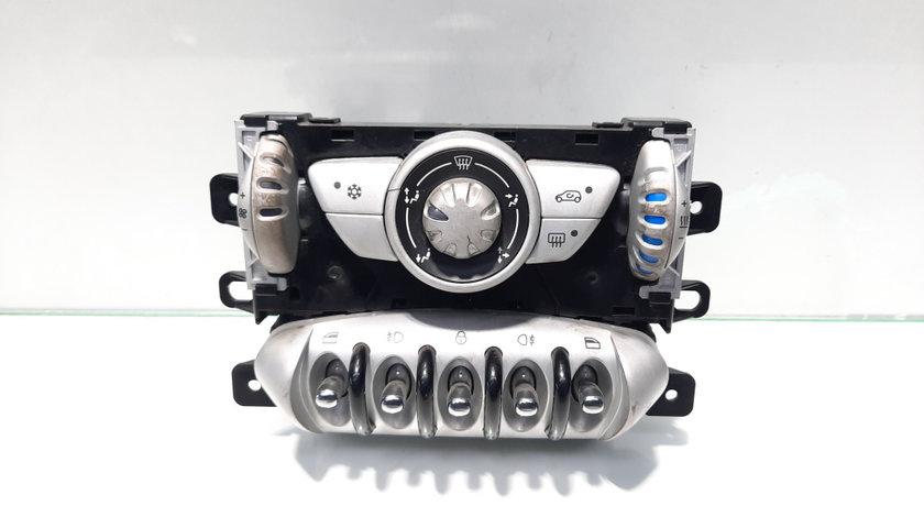 Panou comenzi ac, cu buton comanda geam, proiectoare si inchidere, cod 69795304, Mini Cooper Cabrio (R57) (idi:474333)