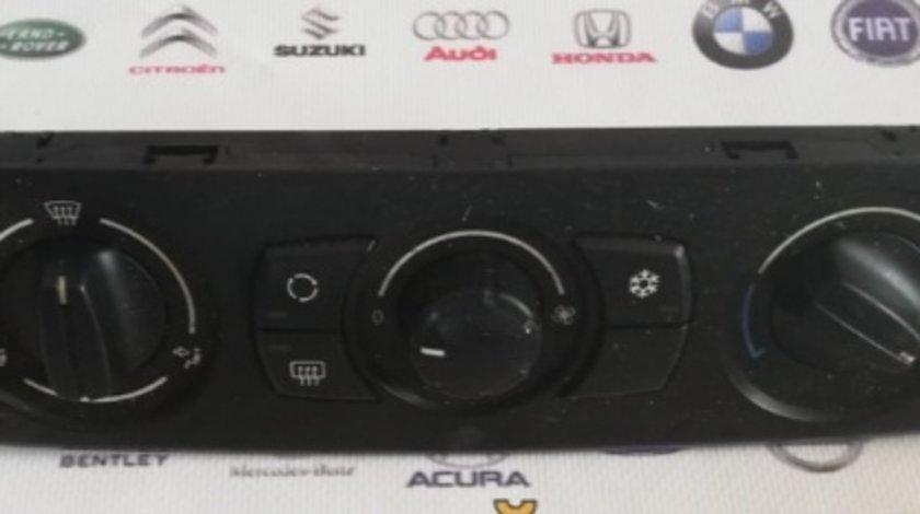 Panou consola comanda clima BMW e81 e87 118d seria 1 motor 2.0d 122cp m47d20