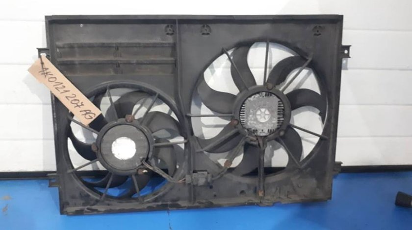 Panou GMV cu 2 electroventilatoare 1K0121207AG Volkswagen Passat B6 2.0 TDI 2004-2009
