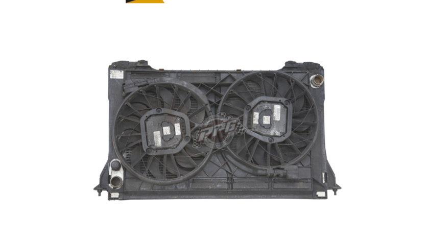 Panou GMV cu 2 ventilatoare Audi A8 D3 4E 3.0/ 4.0/ 4.2 TDI, 3.7 V8/ 4.2/ 6.0 FSI an 2003-2009