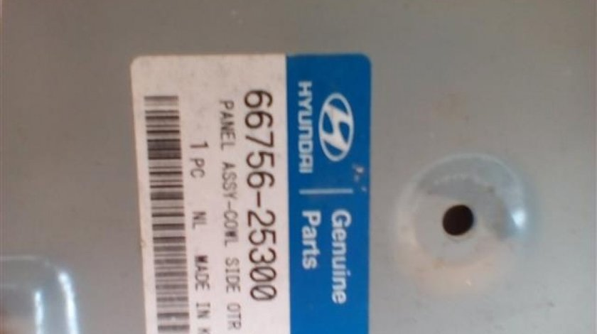 Panou lateral capota partea stanga Hyundai Accent An 1999-2005 cod 66756-25300