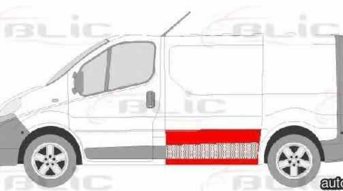 Panou lateral RENAULT TRAFIC II caroserie FL Producator BLIC 6505-06-6061012P