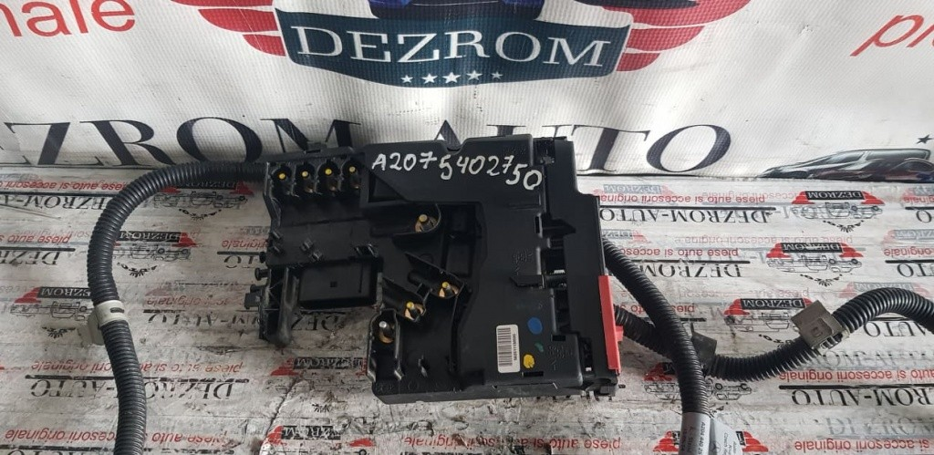 Panou sigurante motor Mercedes-Benz W204 C 280 / C 300 cod A2075402750