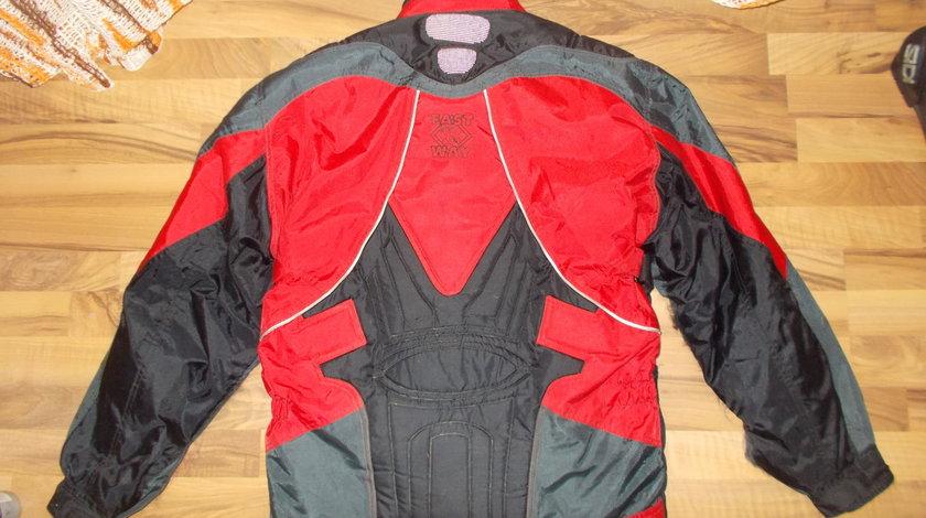 pantaloni moto chopper rock strada marimea 52 -piele naturala si GECI MOTO
