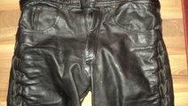 Pantaloni moto piele naturala, diverse modele polo...