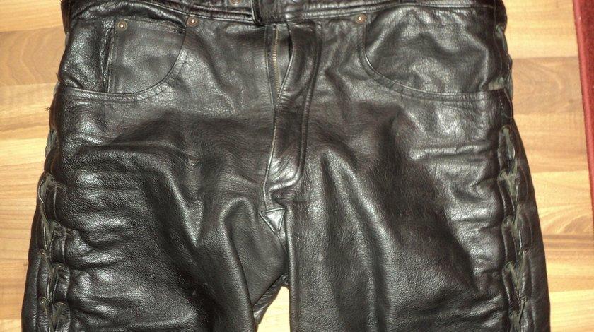 Pantaloni moto piele naturala, diverse modele polo,modeka,ixs