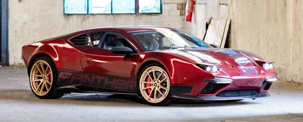 Pantera a reinviat dupa aproape trei decenii cu motor V10 si FARURI ESCAMOTABILE. Cat costa
