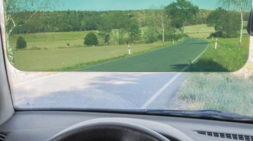Parasolar tip vizor pentru circulatie pe timp de zi si timp de noapte, 18x32x6.5cm, Carpoint