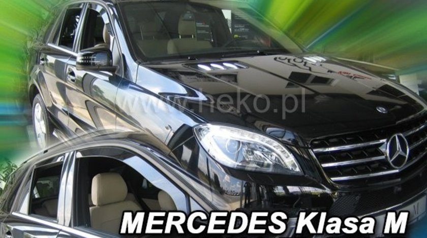Paravanturi auto Mercedes ML W166, 2011-- Set fata si spate – 4 buc. AutoLux