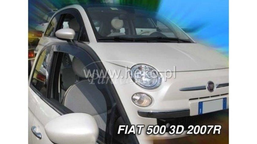 Paravanturi FIAT 500, Hatchback 3 usi, an fabr. 2007- (marca HEKO) Set fata - 2 buc. AutoLux
