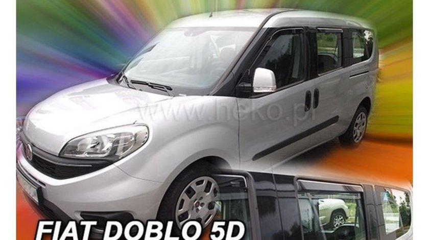 Paravanturi Fiat Doblo, set fata-spate, dupa 2010 Set fata si spate – 4 buc. AutoLux
