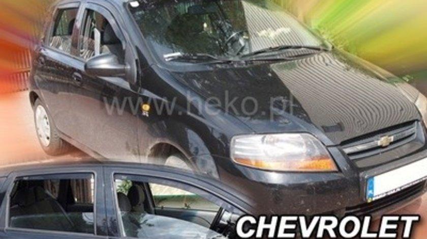 Paravanturi Geam Auto auto Chevrolet Kalos ( Marca Heko - set FATA + SPATE )